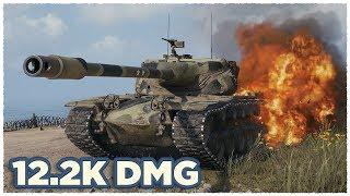 T57 Heavy Tank • 12.2K damage per battle • WoT Gameplay