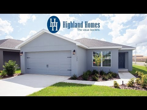 Camellia home plan by Highland Homes - Florida New Homes for Sale