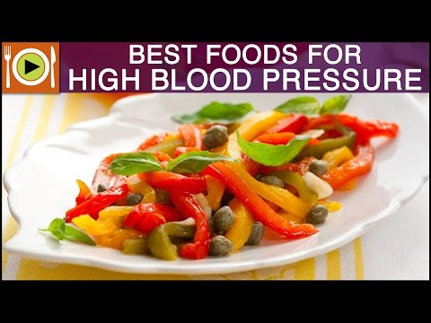 Video Best Foods for High Blood Pressure | Healthy Recipes