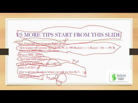 ###F5 101 New Exam Pattern TIPS and Study Materials which will ...