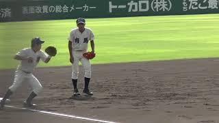 高校野球有馬シートノック『2018秋季兵庫県大会・2回戦』