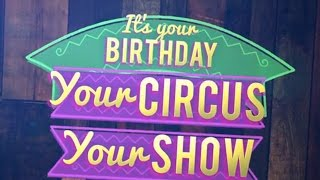 Flipside Circus Birthday Parties