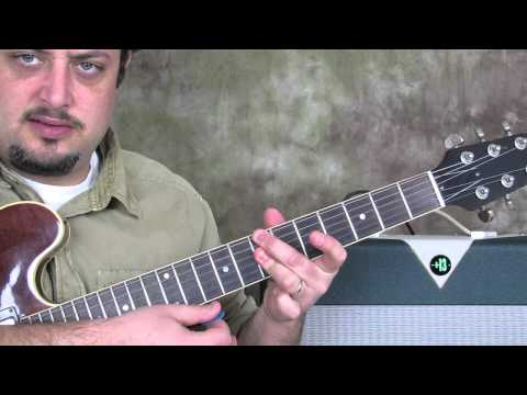 How to Play Jazz Guitar : Walking Bass Chord Comping in Jazz Guitar