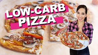 Die BESTE LOW-CARB PIZZA (ohne Blumenkohl oder Thunfisch) aus nur 4 Zutaten