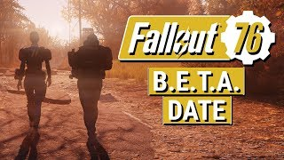FALLOUT 76: NEW B.E.T.A. Date Announced + NEW Perk Cards Discovered!!