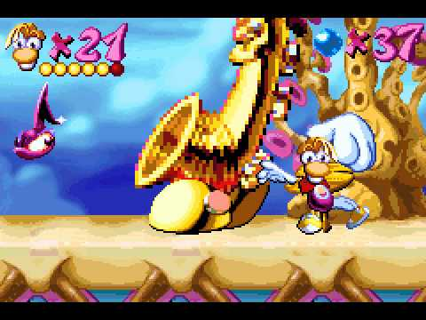 [TAS] GBA Rayman Advance by got4n in 1:16:19,97