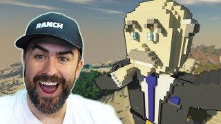 I Built Dr Phil In Minecraft! (RANCH!)