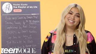 Hayley Kiyoko Creates The Playlist of Her Life   Teen Vogue