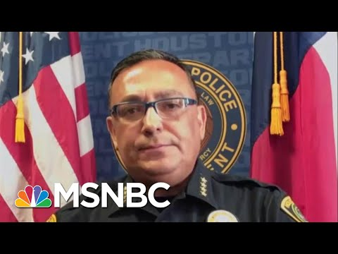 Houston Police Chief: People Know 'The Heart Of The Police Dept.' | Stephanie Ruhle | MSNBC