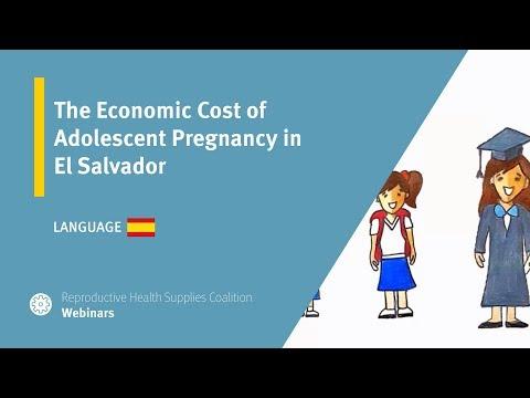 The Economic Cost of Adolescent Pregnancy in El Salvador