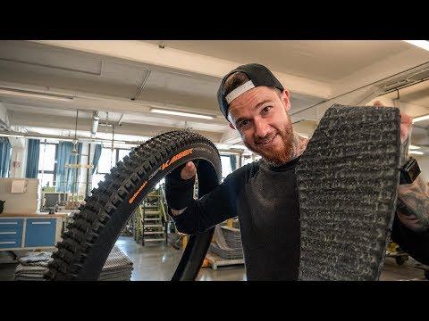 Handgemachte Mountainbike Downhill Reifen! Zu Besuch bei CONTINENTAL & Verlosung | Fabio Schäfer