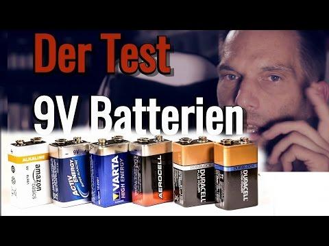 9V Batterien im Vergleich (Varta, Duracell, Amazon, Lidl) - Energize!