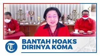 Mata Megawati Soekarnoputri Berkaca-kaca Bantah Hoaks Dirinya Terbaring Koma