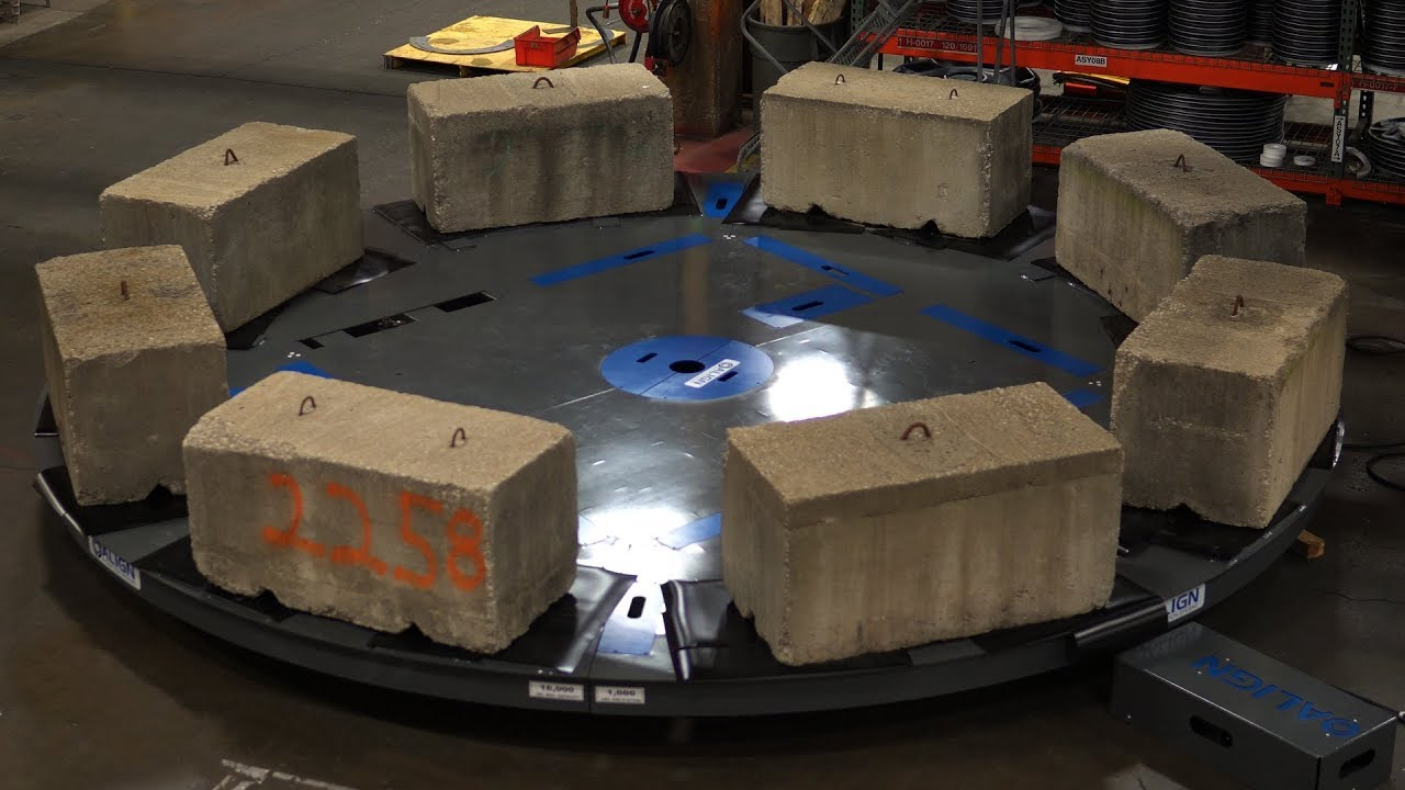 Demo video of a mechanical turntable in action