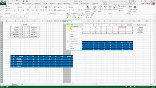 HOW TO CREATE FOOTBALL LEAGUE TABLE IN EXCEL 2013