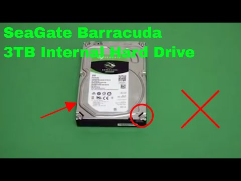 ✅  How To Use SeaGate Barracuda 3TB Internal Hard Drive Review