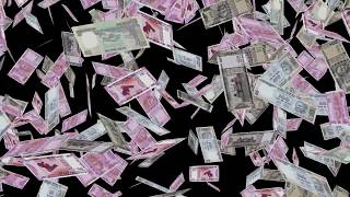 ???? ?? ???? ????   Indian Rupees Currency   Money falling background HD   Money Affirmation videos