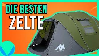 Wurfzelt Vergleich - Die schnellsten POP UP Zelte im Test