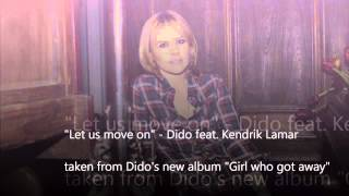 Let Us Move On - Dido feat. Lemar Kendrick (Dido's brand new song)