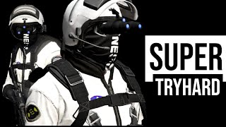 Super Tryhard Black & White Outfit | GTA Outfits