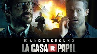 El Profesor & Uno | La Casa de Papel & 6 Underground sur Netflix
