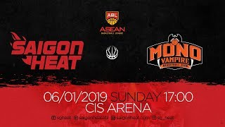 ABL9 || Home - Game 11: Saigon Heat vs Mono Vampire  06/01 | Full Game Replay