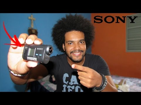 UNBOXING + COMPARANDO SONY ACTION CAM HDR-AS15 2017