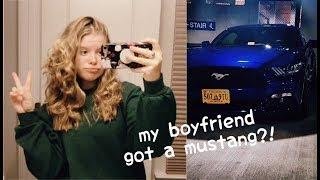 MY BOYFRIEND GOT A MUSTANG?! || Weekly Vlog #5 | Alyssa Michelle - Video Youtube