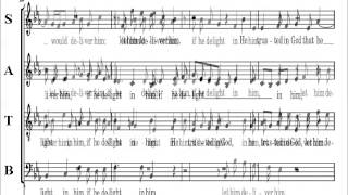 28-  Handel  Messiah Part 2 -  He Trusted In God -  Alto