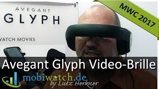 Avegant Glyph Video-Brille ausprobiert: Kino für unterwegs   Hands-on-Test