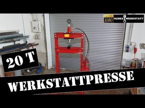 20T Werkstattpresse | Hydraulikpresse | Shop Press | Werkzeug Tipp Oldtimer Restaurierung