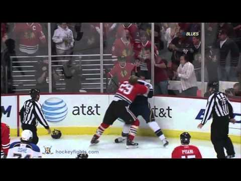 Bryan Bickell vs. David Backes