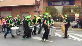 preview picture of video 'Carnavales Rojales 2015 - HAKUNA BATUKADA'