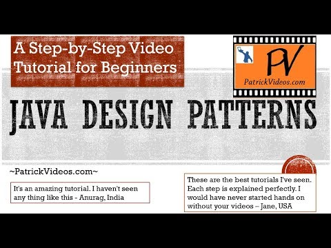 Java Design Patterns - step by step - made easy for Beginners.