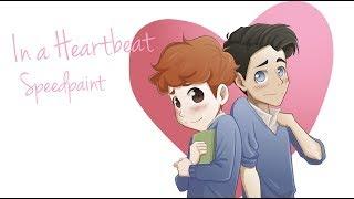SPEEDPAINT | In a Heartbeat - Fan art