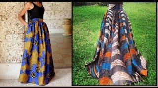 DIY: Maxi Skirt- No Sewing Needed