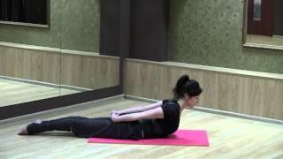 Смотреть онлайн Укрепляем мышцы спины с помощью пилатеса