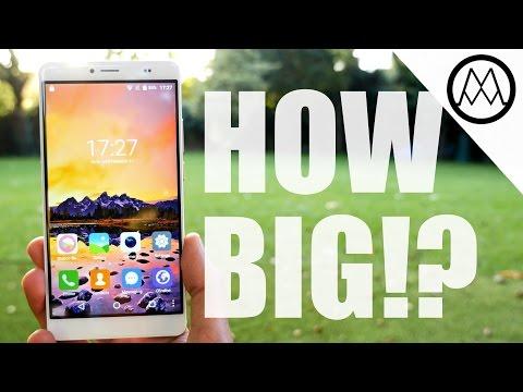 Bluboo Maya Max Smartphone Review!