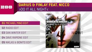 Darius & Finlay feat. Nicco - Do It All Night (Michael Mind Edit)