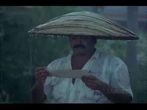 Raining Scene in Thoovanathumbikal