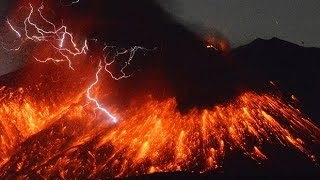 Watch: Volcanic lightning seen as Sakurajima erupts spectacularly in southern Japan