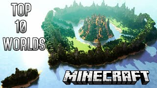 Top 10 CRAZIEST Minecraft Worlds Of ALL TIME