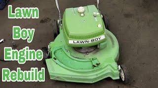 Lawn Boy Engine Rebuild