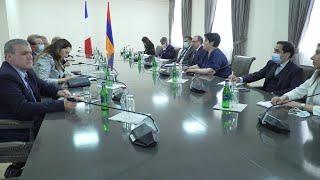 ԱԳ նախարարի պաշտոնակատար Արա Այվազյանի հանդիպումը Ֆրանսիայի Ազգային ժողովի պատգամավորների հետ