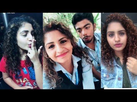 Oru Adhaar Love Noorin Shereef Cute Latest Trending Comedy TikTok Videos | Roshan | Noorin