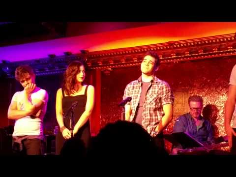 Jeremy Jordan, Krysta Rodriguez, Andy Mientus - Broadway Here I Come - 54 Below Mp3