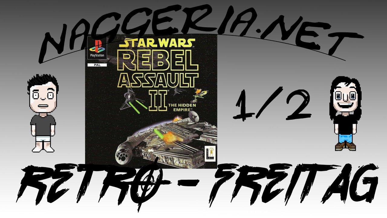 [Retro-Freitag] Star Wars: Rebel Assault 2 – Part 1/2 (Playstation)
