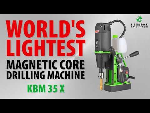 KBM 35 X Magnetic Core Drilling Machine