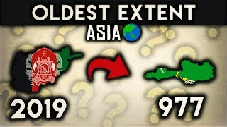 Countries of Asia at their Oldest Extent