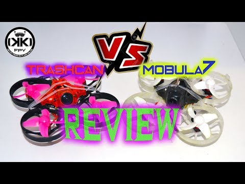 Trashcan vs mobula Review (subtitles)